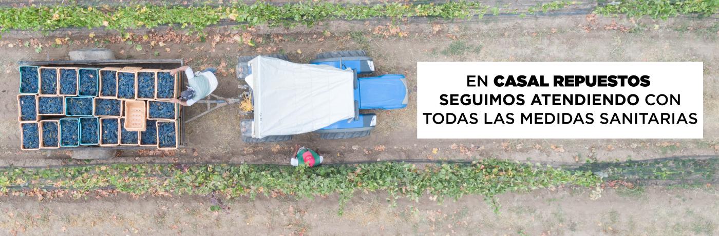 Casal Repuestos - ESPECIALISTAS EN REPUESTOS PARA TRACTORES Y RETROEXCAVADORAS