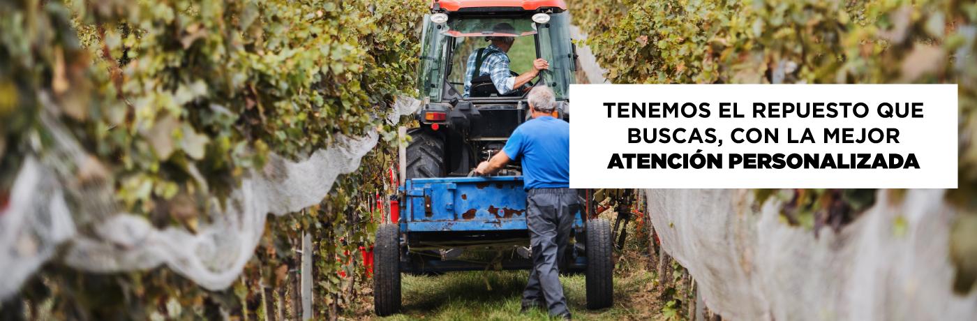 Cotiza tus Repuestos para Tractores y Retroexcavadoras