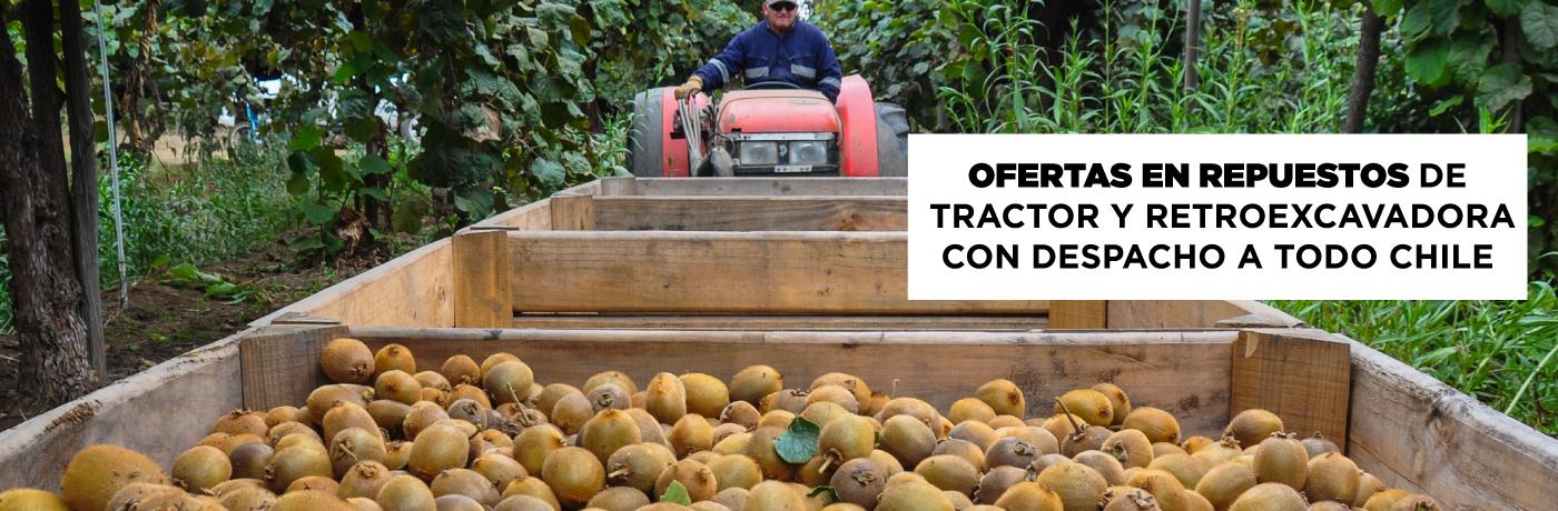Ofertas en Repuestos para Tractores y Retroexcavadoras